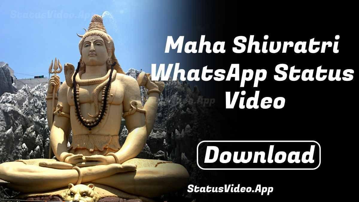 Maha Shivratri Whatsapp Status Video Download Video Status New Whatsapp Status
