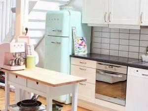 frigo smeg d co kitchen pinterest. Black Bedroom Furniture Sets. Home Design Ideas