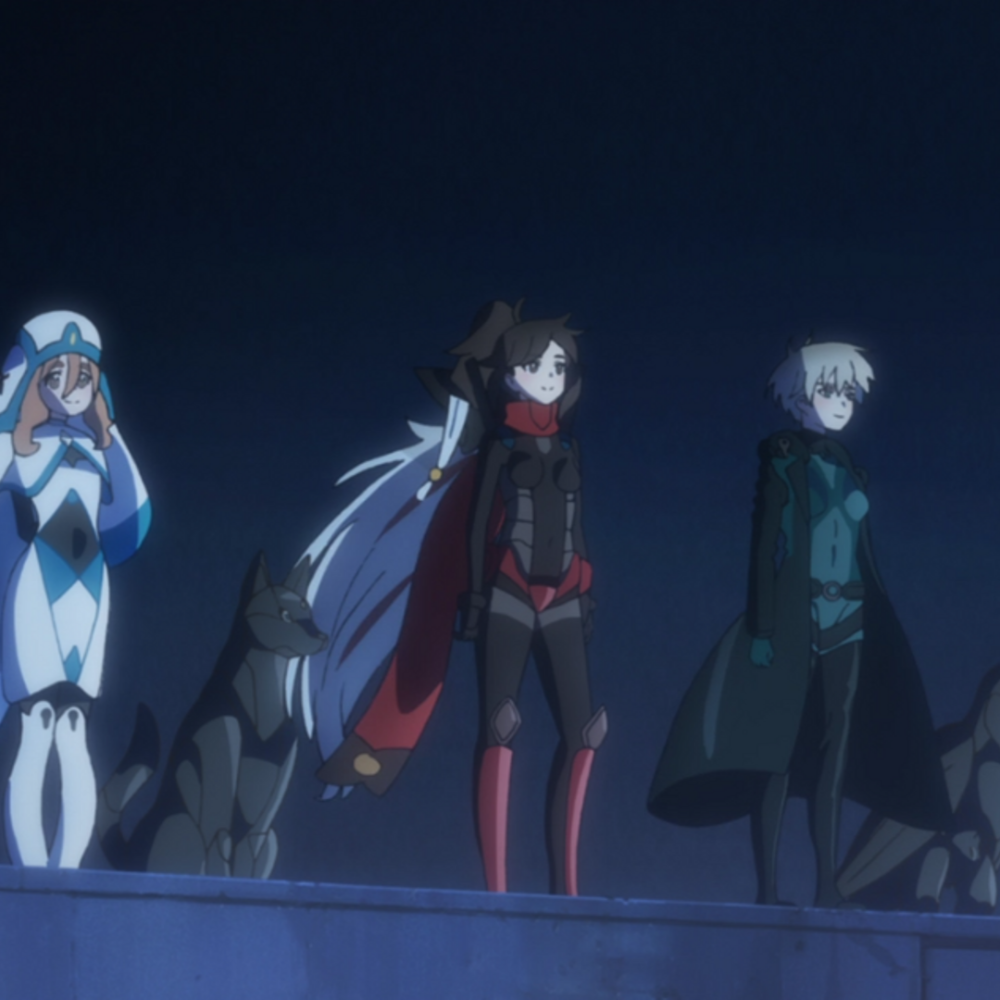 Black Fox Anime A Ninja in a futuristic World blackfox