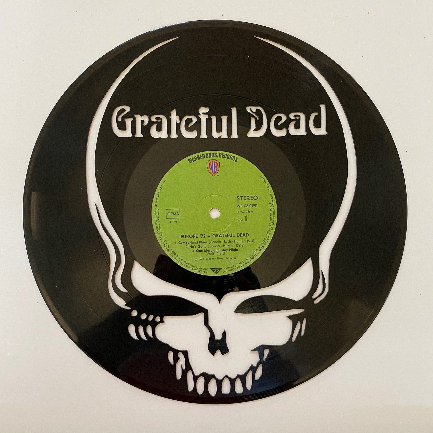 Excited To Share The Latest Addition To My Etsy Shop Grateful Dead Vinyl Record Art Https Etsy Me 3 In 2020 Vinyl Record Art Grateful Dead Vinyl Led Zeppelin Vinyl