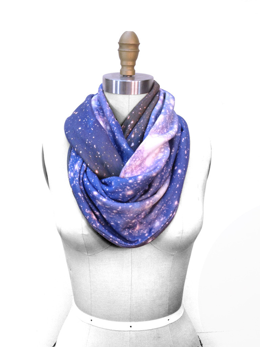 Magellanic Cloud - Space inspired scarf