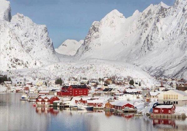 Reine, Noruega.