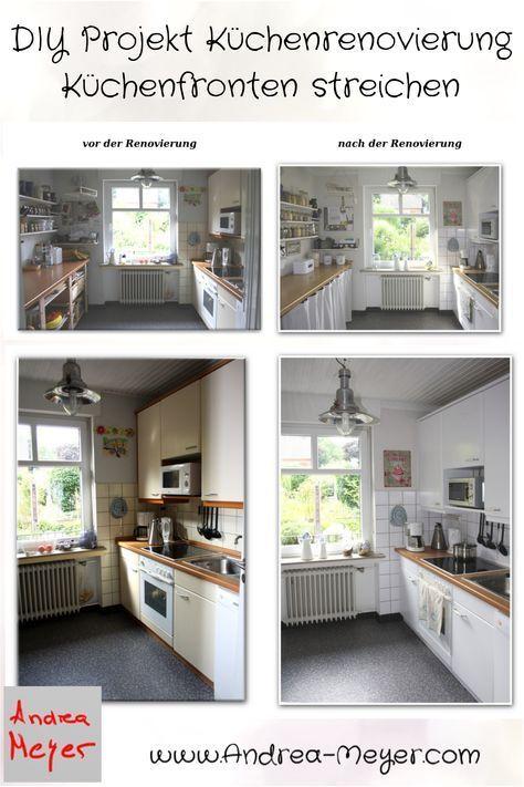 DIY - Projekt Küchenrenovierung: Küchenfronten streichen ...