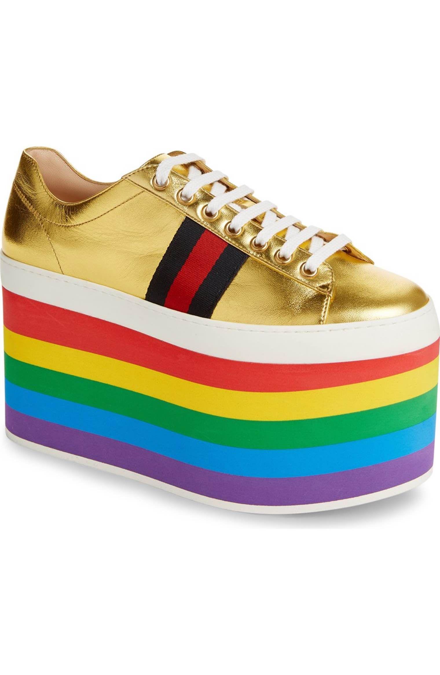 df2854c2af9 Main Image - Gucci Peggy Platform Sneaker (Women)