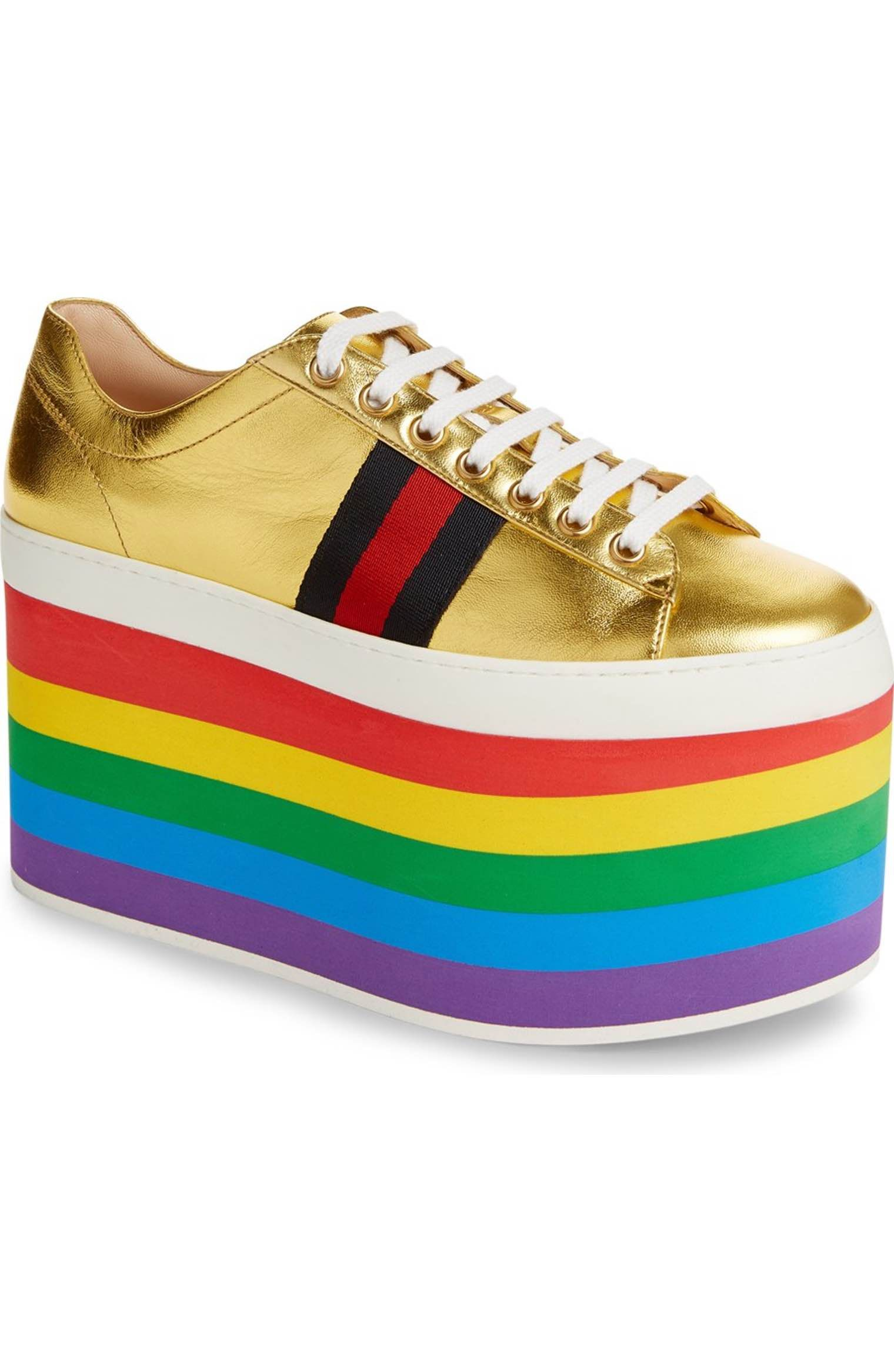 Main Image - Gucci Peggy Platform Sneaker (Women) | Funky ...