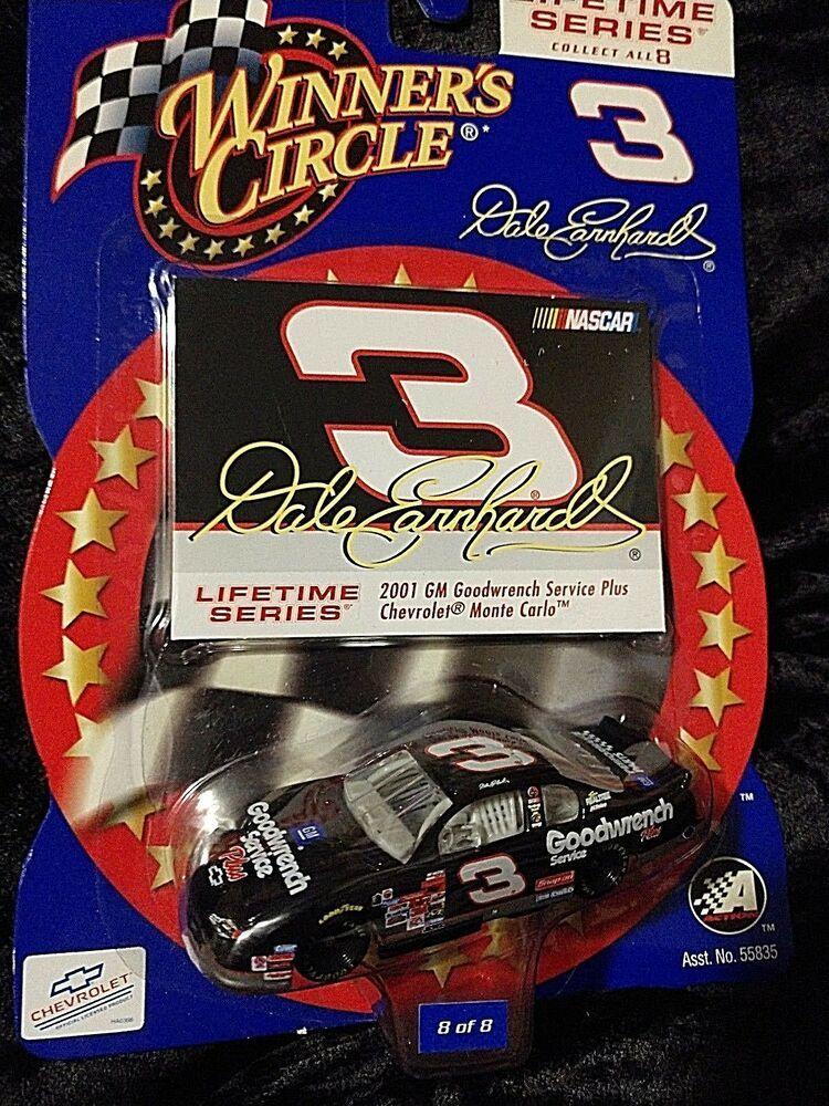 2001 Nascar Winner S Circle Dale Earnhardt Sr 3 Gm Goodwrench