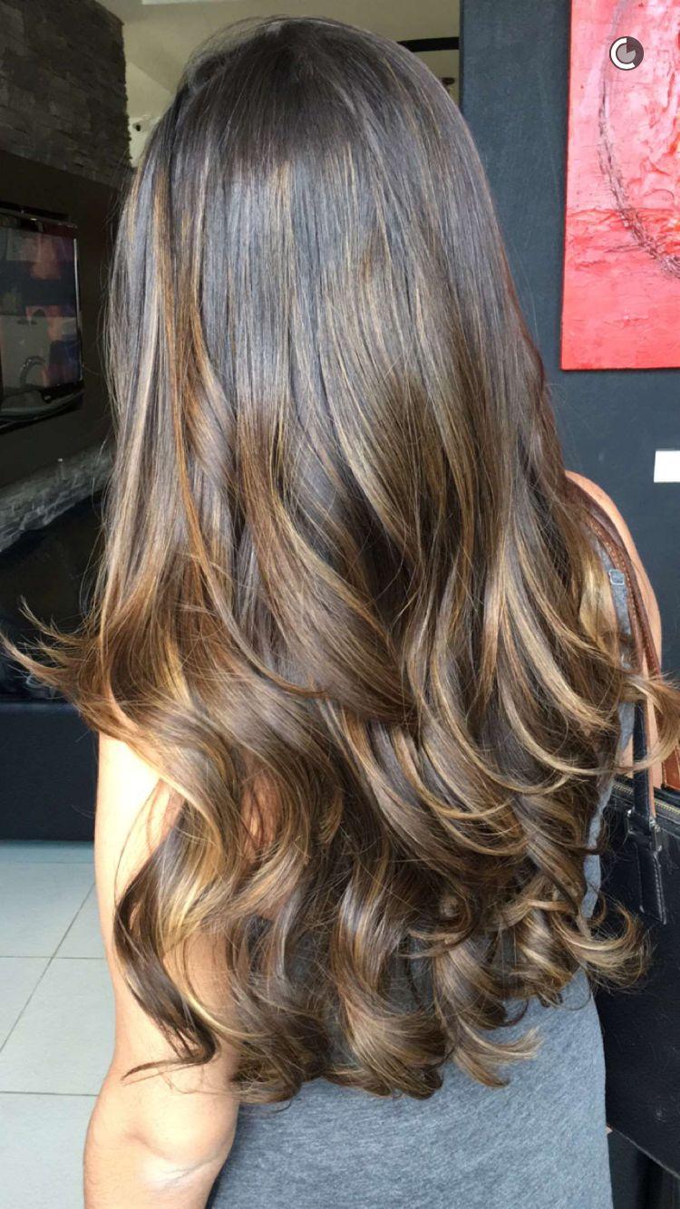 Hair Color Castanho Iluminado Cabelo Cabelo Lindo E Cabelo Castanho