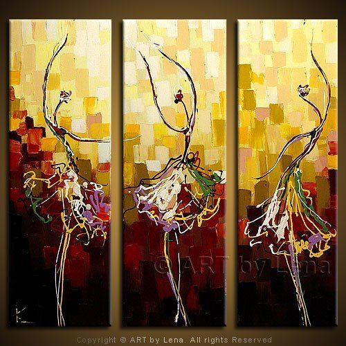 Beautiful Dafen Oil Painting Decorative Painting Picture Frameless Abstract