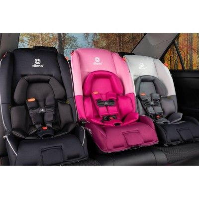 Diono Radian 3 RX All-in-One Convertible Booster Child Safety Car Seat Pink