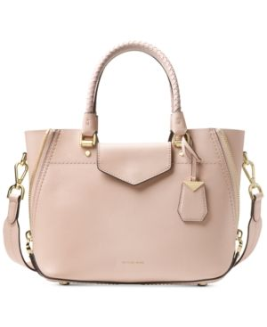 ca35b180d281 Michael Michael Kors Blakely Small Messenger - Pink Smooth Leather