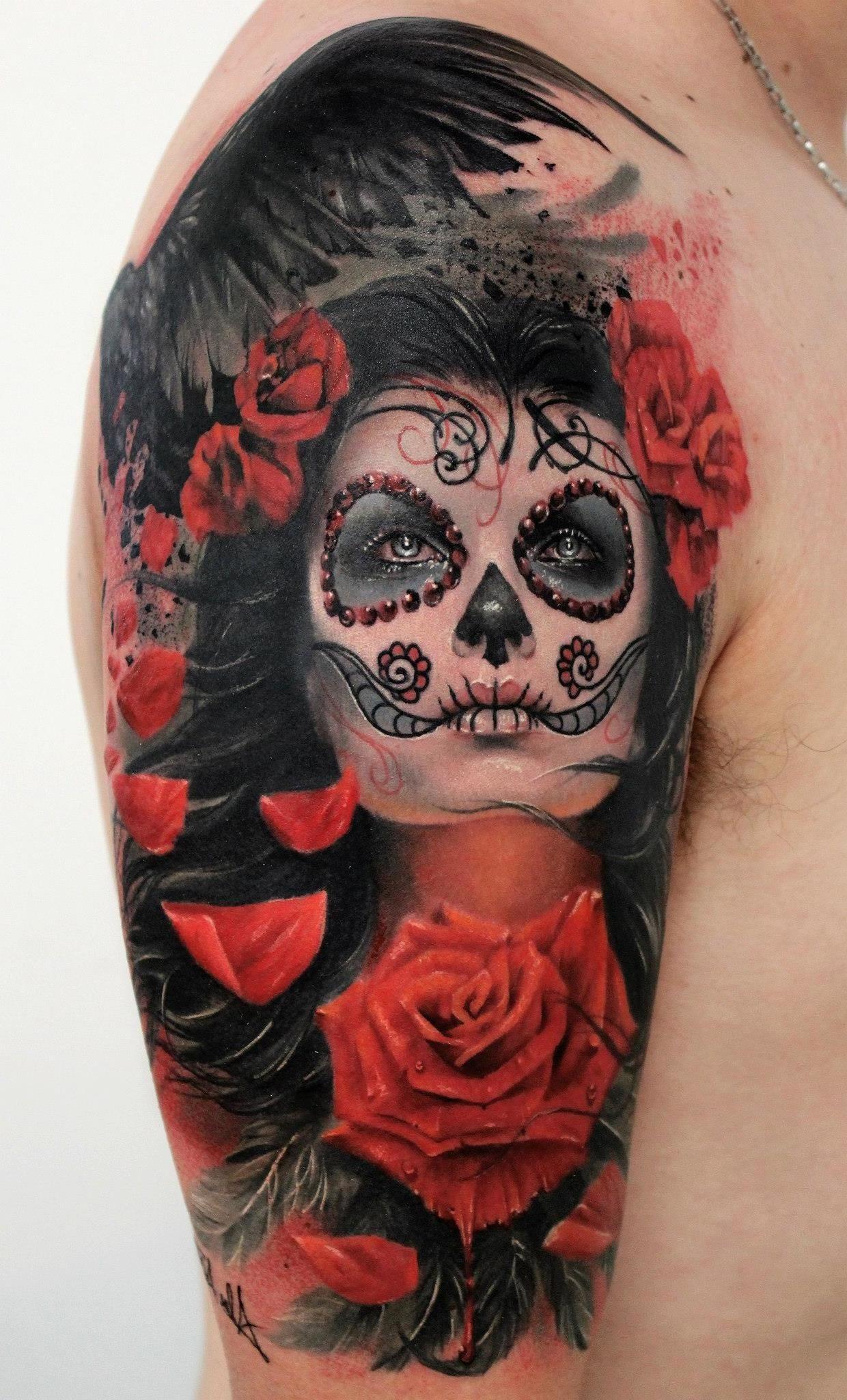 La Catrina Tattoo Bedeutung Was Steht Hinter Dem Trend Tattoos