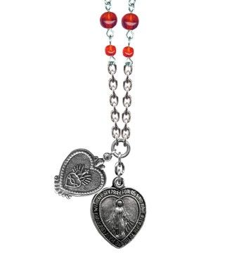 Sacred Heart Mary Sweet & Petite Necklace