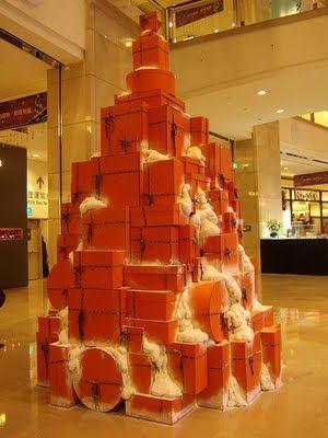 box christmas tree diy digeny diyable christmas tree countdown box tree - Christmas Tree Boxes