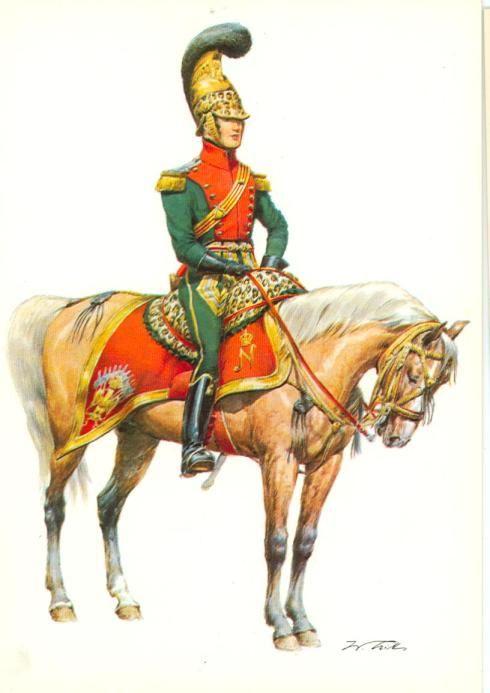 Maggiore dei cavalleggeri lancieri francesi - Wolfang Tritt
