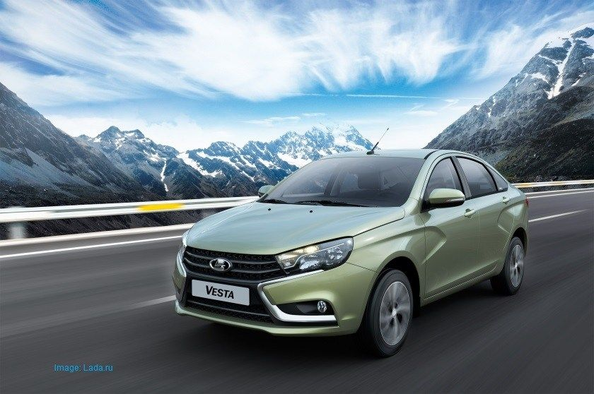 Lada Vesta Has Been Launched In The South American Market Lada Vesta Vesta South American