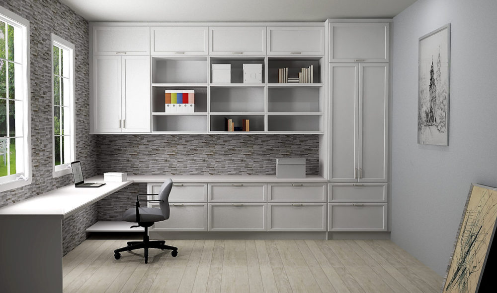 Using IKEA Cabinetry To Create Your Home Office in 2020 ...
