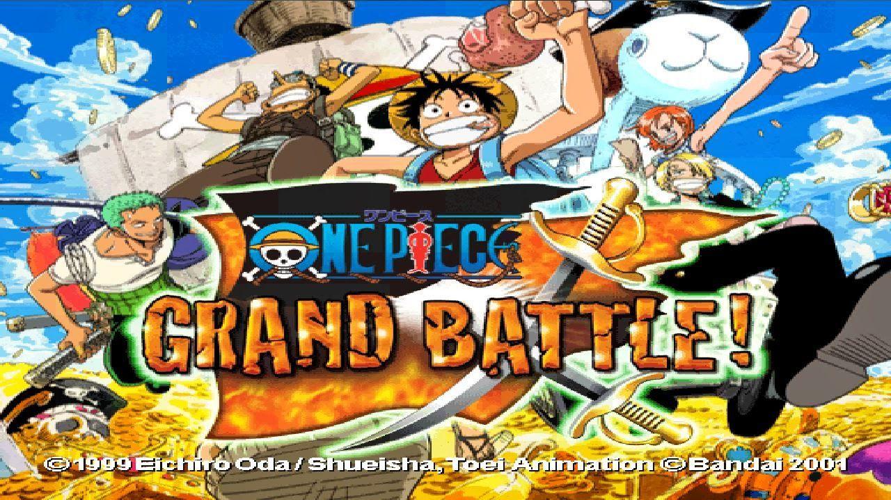 One Piece Grand Battle! (E) Rom +Emulator [PS1] - One-Piece