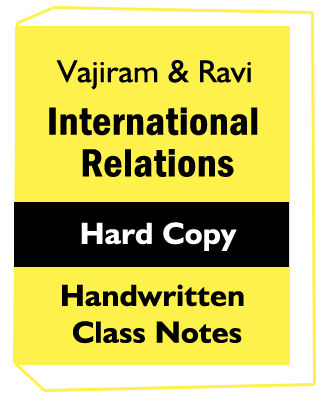 Vajiram International Relations Mains | Find Information for Govt