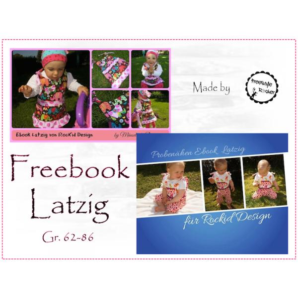 Freebook - Latzig Gr. 62-86 | Nähen | Pinterest | Iphone tasche ...