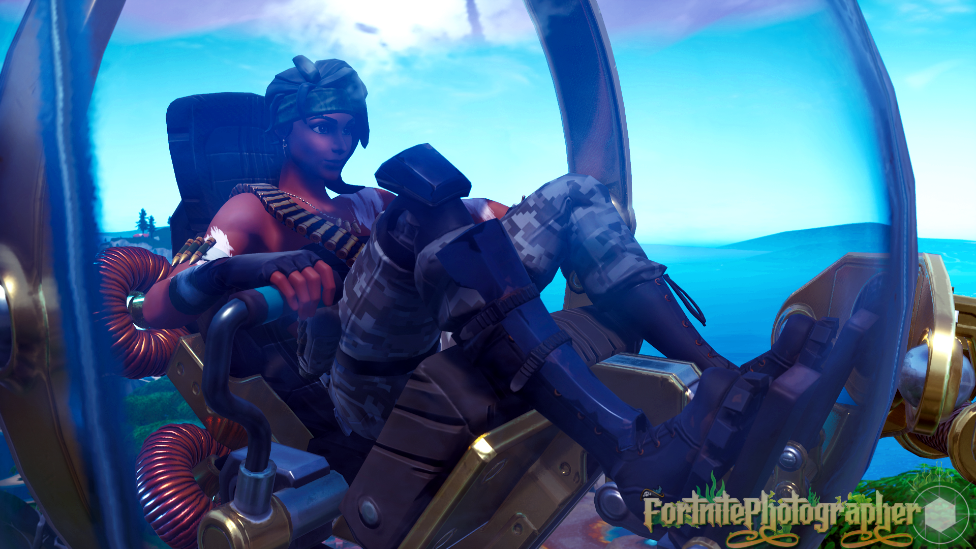 The Hunt Is On We Are Now 100 Twitter Fortnite Photographer Just Hit 100 Followers Thank You All So Much Bandolette Set 02 4 4 Fnphootographer On
