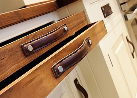Masculine Leather Drawer Pulls The Turnstyle Designs Strap Cabinet Handles Collection
