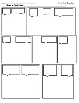Comic Strip Template Comic Strip Template Comic Strips Comics