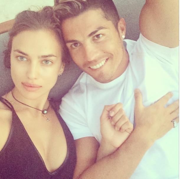 Irina Shayk et Cristiano Ronaldo :