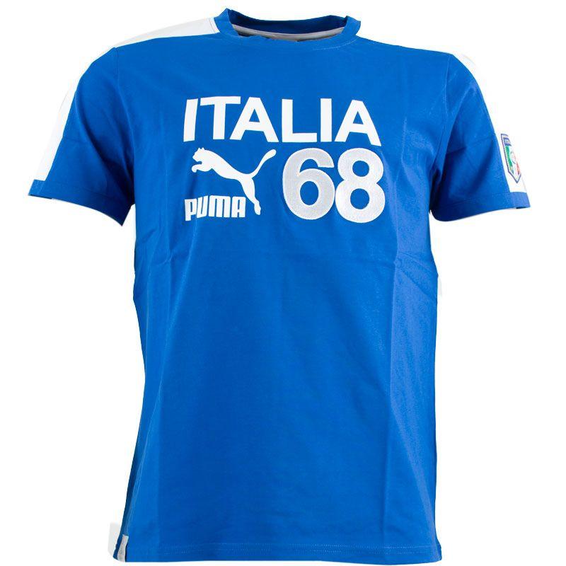 a013e80c62 Puma - Italia T-shirt Ufficiale Archives Azzurra 2012