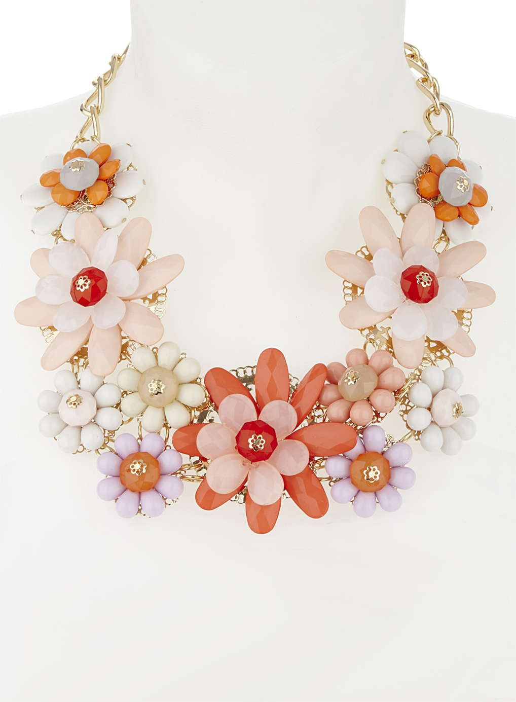 a5635f9d8 Floral Bib Necklace Love it | Chasity's style | Jewelry, Jewelry ...