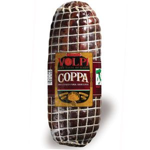Specialty Cured Meats - Dry Cured Coppa - approx. wt.
