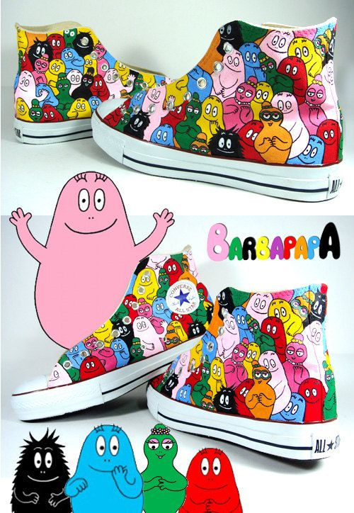 Hand Painted Converse Chucks made to order by AnnatarCustomizer, $130.00