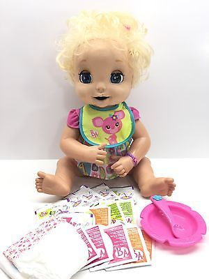 Details About 2006 Hasbro Baby Alive Soft Face Interactive