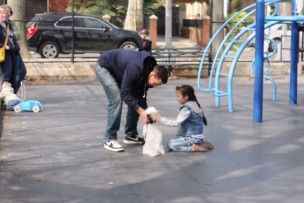 Este homem provou como é fácil raptar uma criança