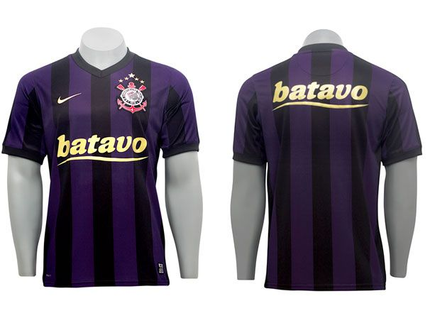 Terceira camisa do corinthians 2009 Camisas Roxas 493b0b14a8cd3
