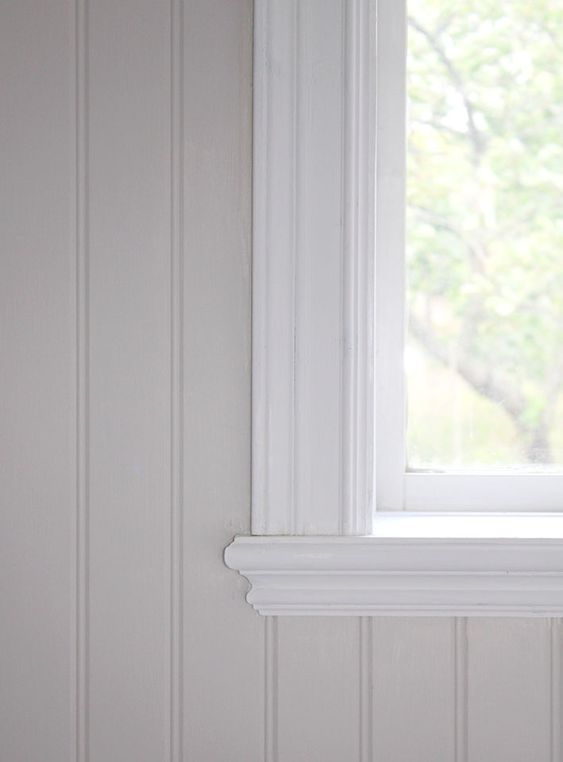 Stylish finish on the windowsill, pearl bead. I might want to …