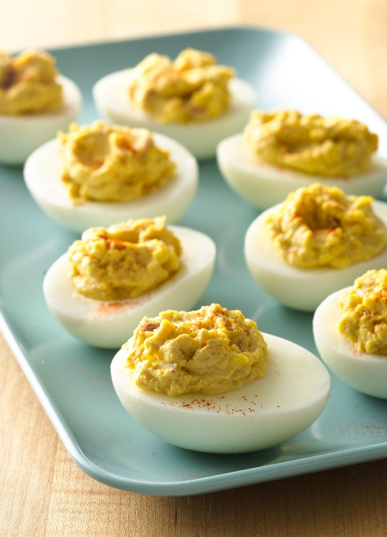 Zesty Deviled Eggs #deviledeggs
