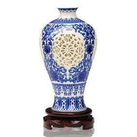 Hollow Thin Tires Art Vase