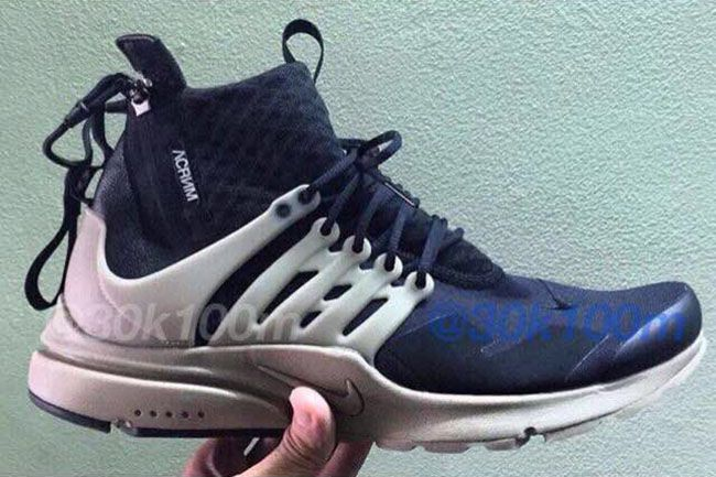 new styles 6b3db b9a5e Acronym x Nike Air Presto Will Release in at Least Two Colorways - EU  Kicks Sneaker Magazine