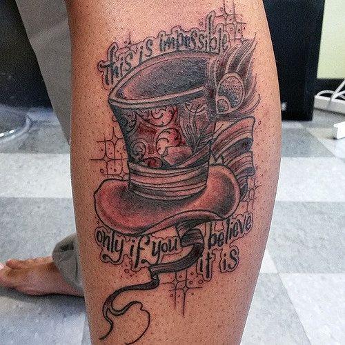 Designs mad hatter tattoo mad hatter