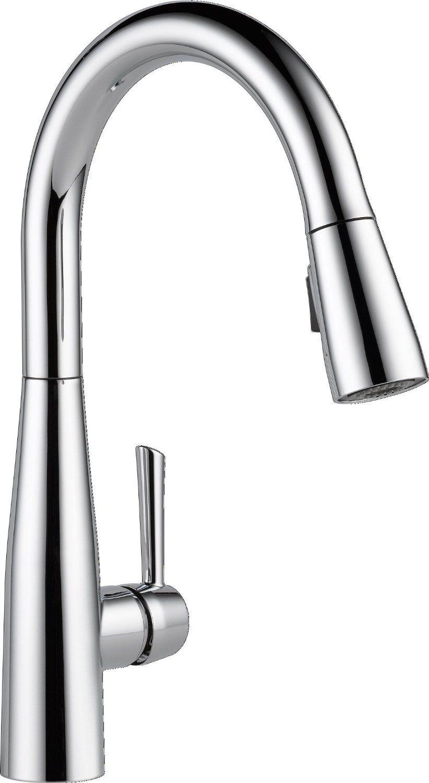 Delta Faucet 9113-AR-DST Essa Single Handle Pull-Down Kitchen Faucet ...