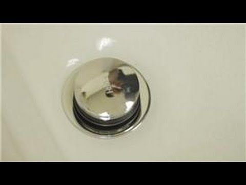 How to Fix a Bathtub or Sink Popup Drain Stopper Remove