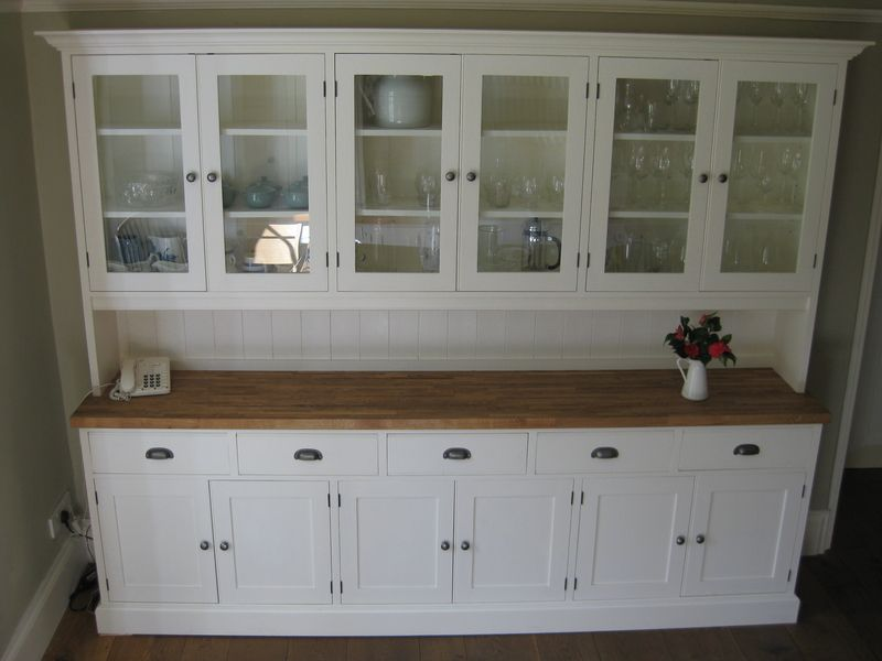 Kitchen Dresser kitchen dresser with emma bridgewater china Built In Kitchen Dresser