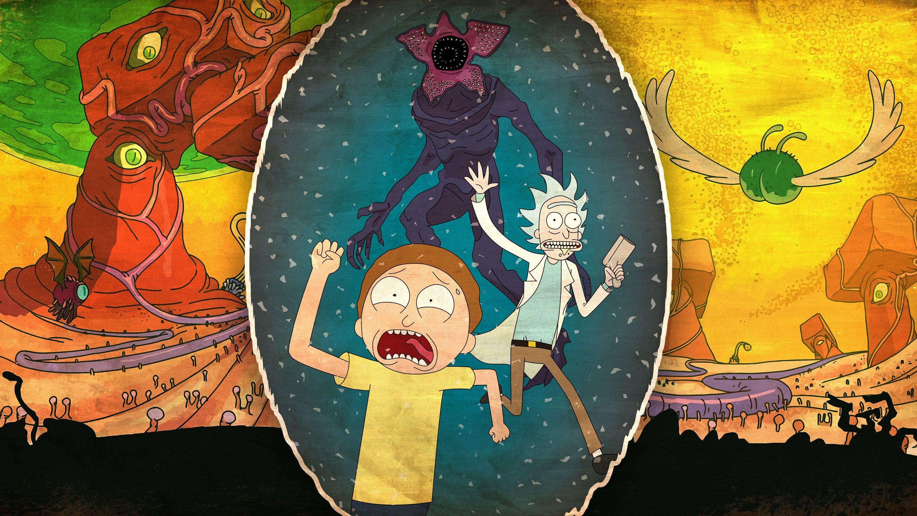 Rick And Morty Run Hd Wallpaper Cartoon Wallpaper Rick And Morty Character Wallpaper Get inspired for ultra hd rick and