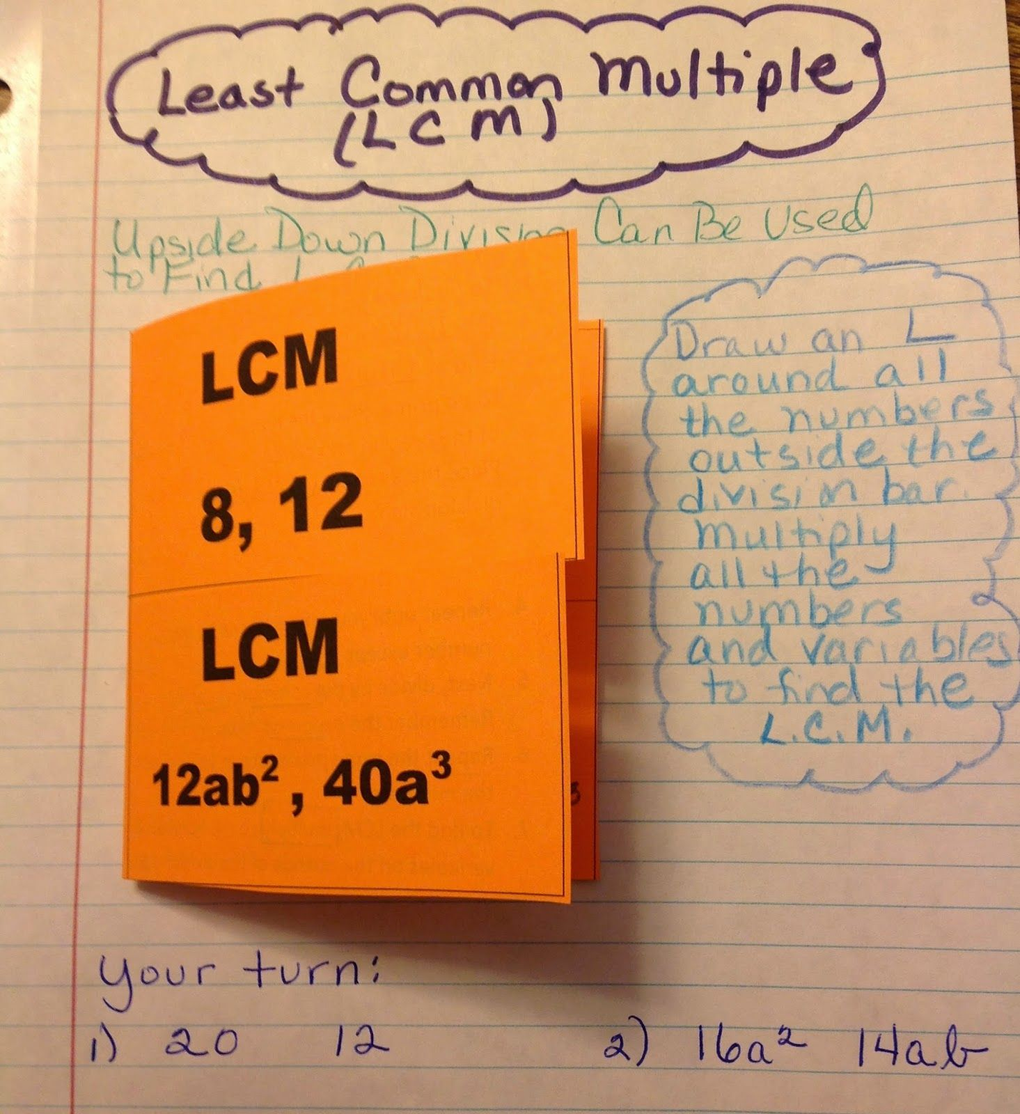 Equation Freak Lcm And Gcf