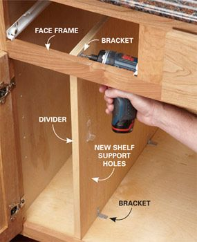 10 Kitchen Cabinet & Drawer Organizers You Can Build Yourself ...