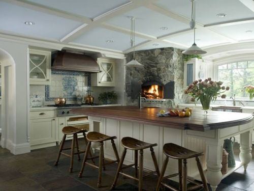 Large Kitchen Island With Seating Ideas