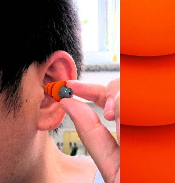 Noise canceling earbuds