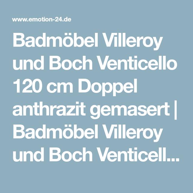 Badmobel Mit Villeroy Boch Venticello Waschbecken 120cm Doppel