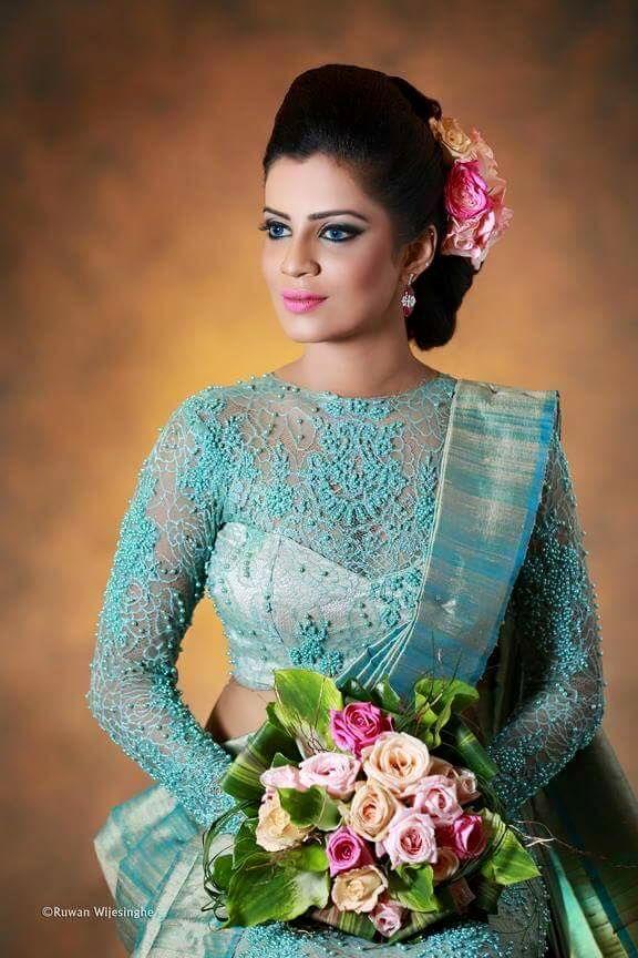 Chami Habarakada Salon Sri Lanka | Saree Bu2665S | Pinterest | Sri Lanka Saree And Blouse Designs