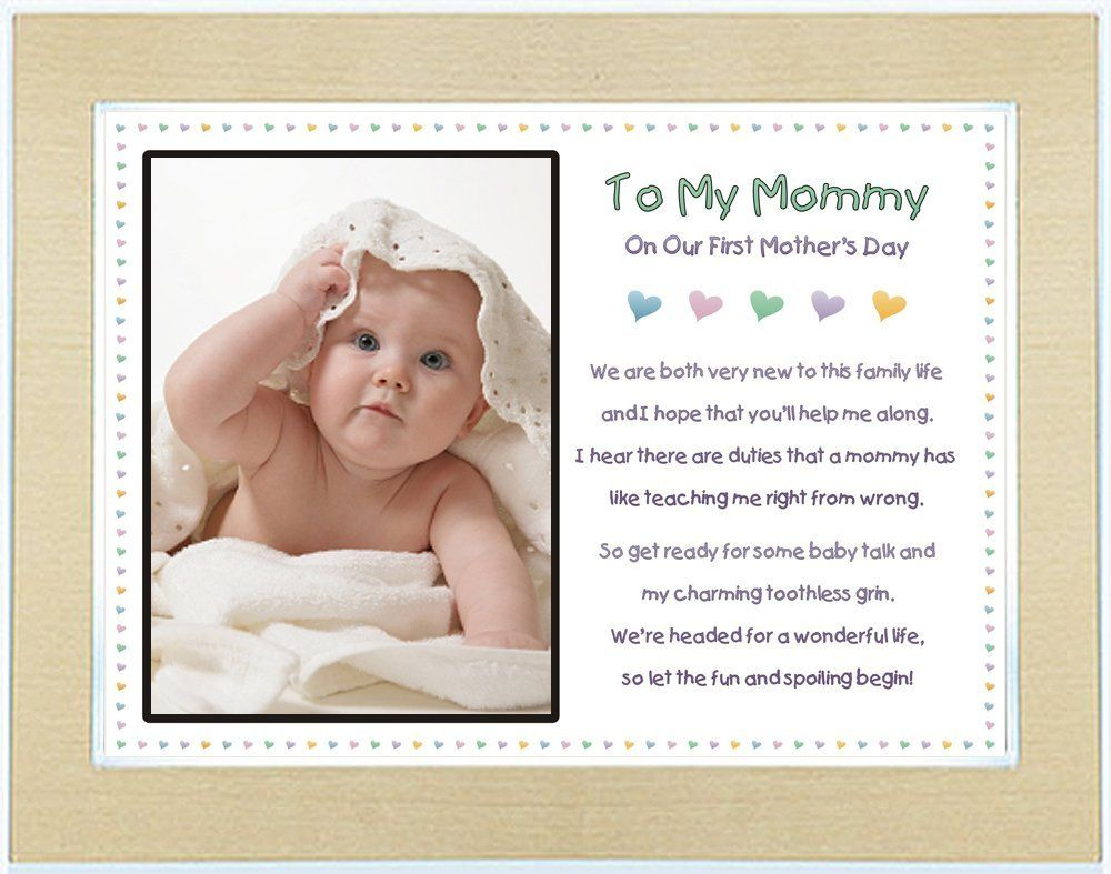 The Best First Mother S Day Gifts Kathln To My Mommy On
